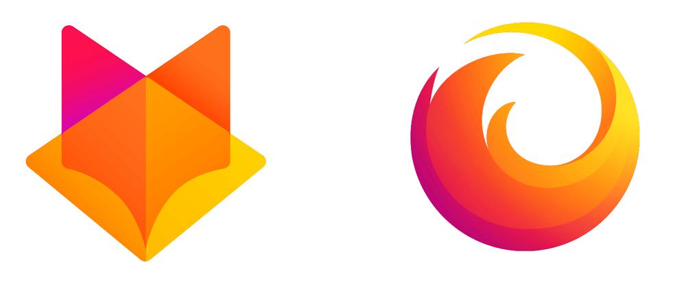 Новый логотип Файрфокс (Firefox)